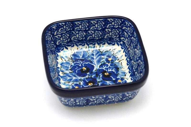 Ceramika Artystyczna Polish Pottery Ramekin - Square - Unikat Signature - U3639 428-U3639 (Ceramika Artystyczna)