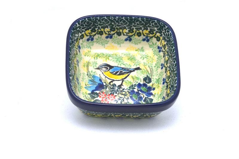 Ceramika Artystyczna Polish Pottery Ramekin - Square - Unikat Signature - U4419 428-U4419 (Ceramika Artystyczna)