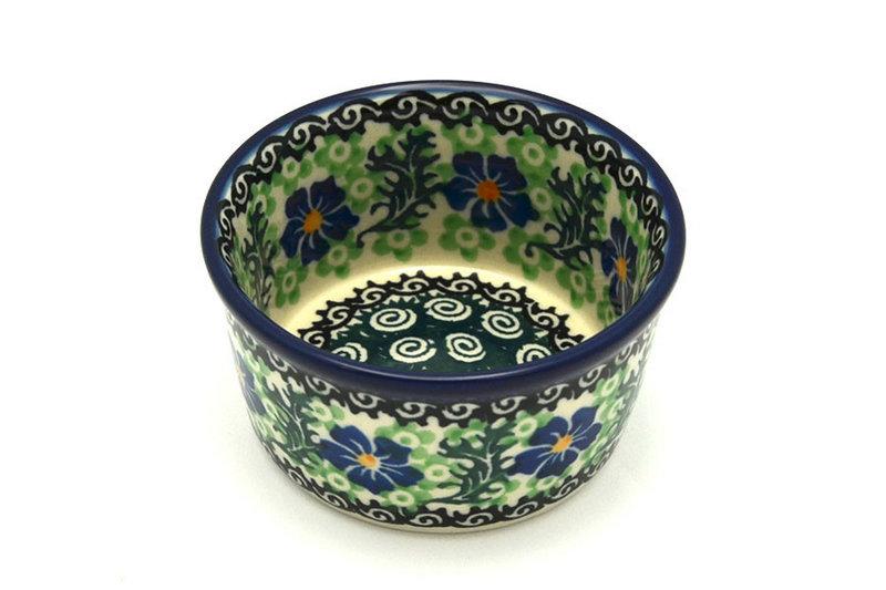 Ceramika Artystyczna Polish Pottery Ramekin - Sweet Violet 409-1538a (Ceramika Artystyczna)