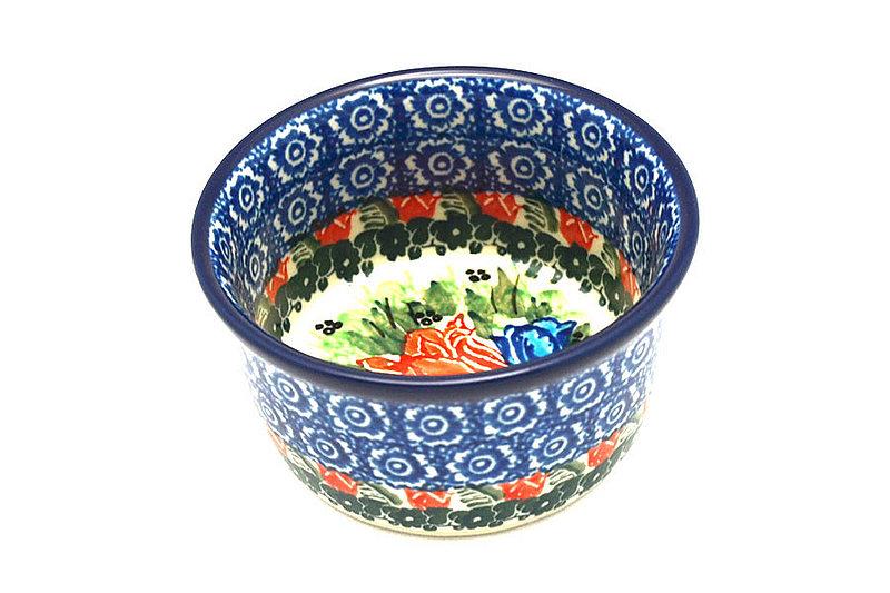 Ceramika Artystyczna Polish Pottery Ramekin - Unikat Signature - U3516 409-U3516 (Ceramika Artystyczna)