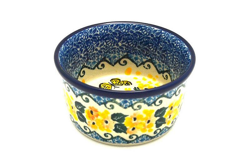 Ceramika Artystyczna Polish Pottery Ramekin - Unikat Signature - U4592 409-U4592 (Ceramika Artystyczna)