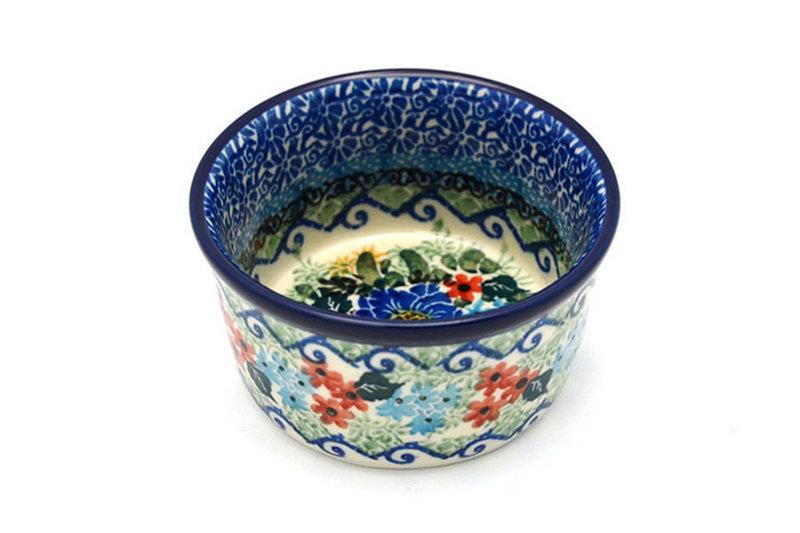 Ceramika Artystyczna Polish Pottery Ramekin - Unikat Signature - U4695 409-U4695 (Ceramika Artystyczna)