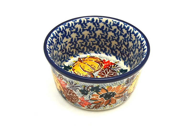 Ceramika Artystyczna Polish Pottery Ramekin - Unikat Signature - U4741 409-U4741 (Ceramika Artystyczna)
