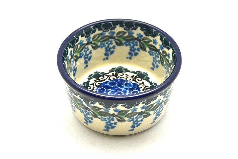 Ceramika Artystyczna Polish Pottery Ramekin - Wisteria 409-1473a (Ceramika Artystyczna)