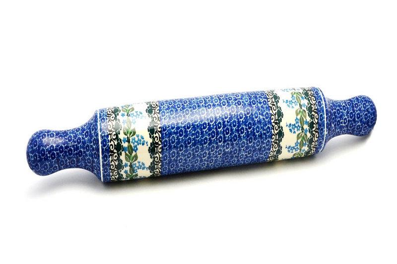 Ceramika Artystyczna Polish Pottery Rolling Pin - Wisteria 439-1473a (Ceramika Artystyczna)