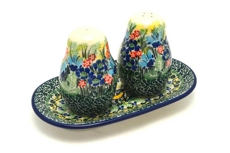 Ceramika Artystyczna Polish Pottery Salt & Pepper Set - Unikat Signature U4419 131-U4419 (Ceramika Artystyczna)