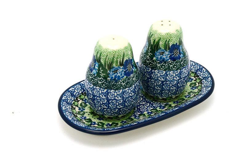 Ceramika Artystyczna Polish Pottery Salt & Pepper Set - Unikat Signature U4629 131-U4629 (Ceramika Artystyczna)