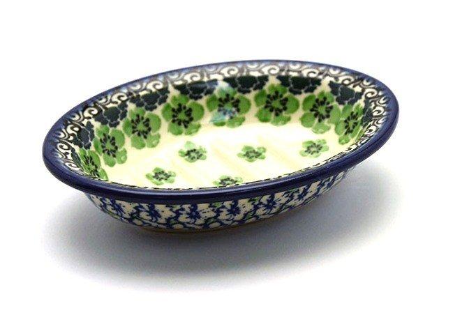 Ceramika Artystyczna Polish Pottery Soap Dish - Kiwi 510-1479a (Ceramika Artystyczna)