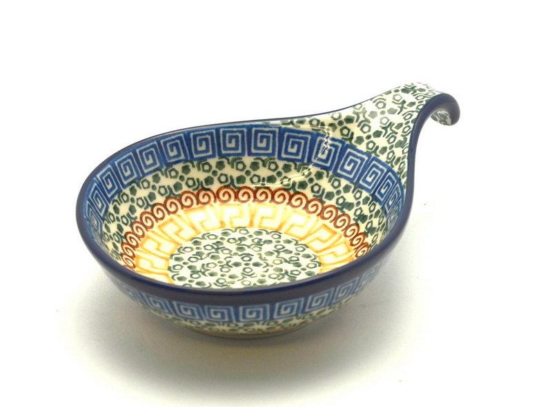 Ceramika Artystyczna Polish Pottery Spoon/Ladle Rest - Autumn 174-050a (Ceramika Artystyczna)