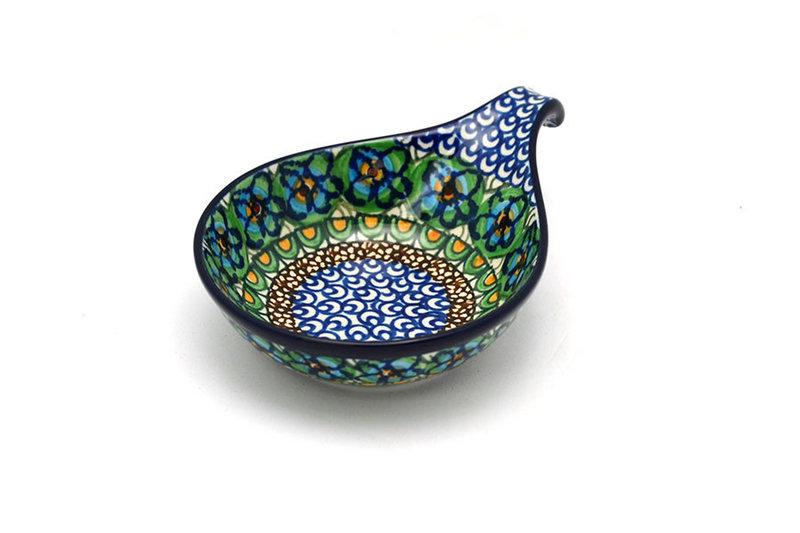 Ceramika Artystyczna Polish Pottery Spoon/Ladle Rest - Unikat Signature - U151 174-U0151 (Ceramika Artystyczna)