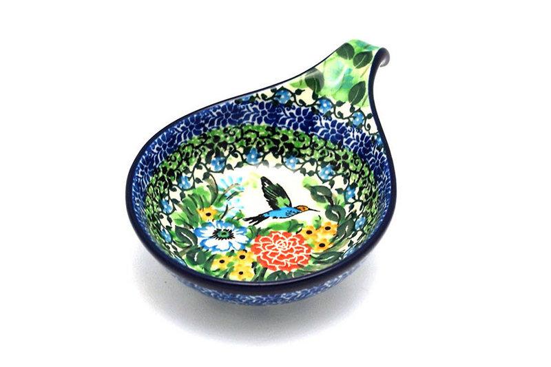 Ceramika Artystyczna Polish Pottery Spoon/Ladle Rest - Unikat Signature - U3271 174-U3271 (Ceramika Artystyczna)