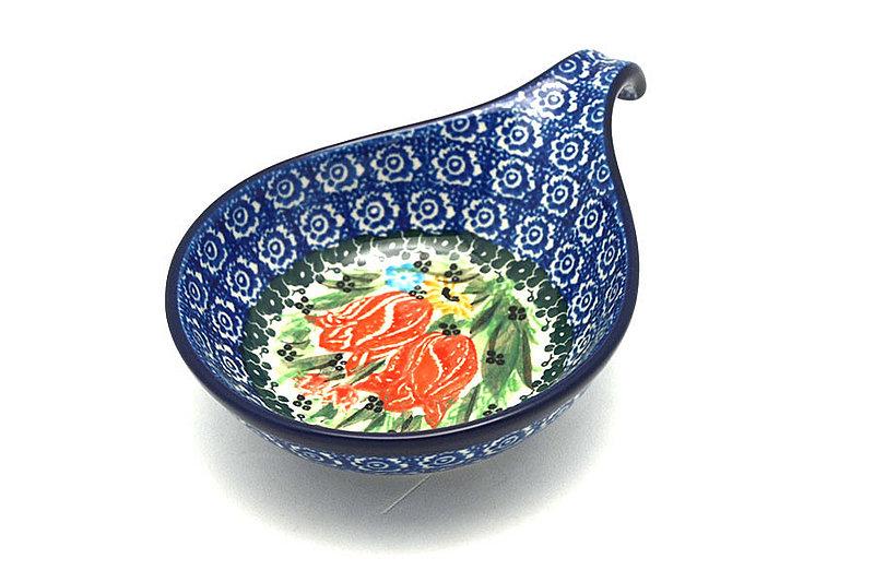 Ceramika Artystyczna Polish Pottery Spoon/Ladle Rest - Unikat Signature - U3516 174-U3516 (Ceramika Artystyczna)
