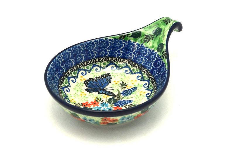 Ceramika Artystyczna Polish Pottery Spoon/Ladle Rest - Unikat Signature - U4600 174-U4600 (Ceramika Artystyczna)