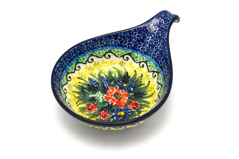 Ceramika Artystyczna Polish Pottery Spoon/Ladle Rest - Unikat Signature - U4610 174-U4610 (Ceramika Artystyczna)