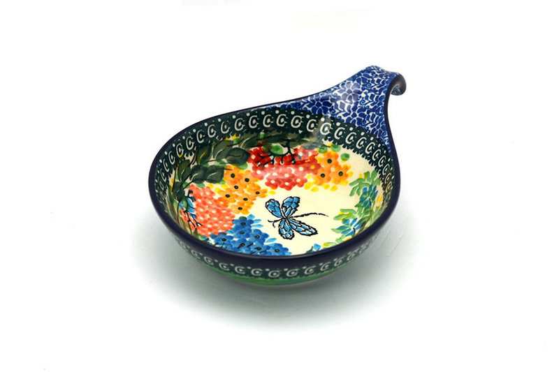 Ceramika Artystyczna Polish Pottery Spoon/Ladle Rest - Unikat Signature - U4612 174-U4612 (Ceramika Artystyczna)