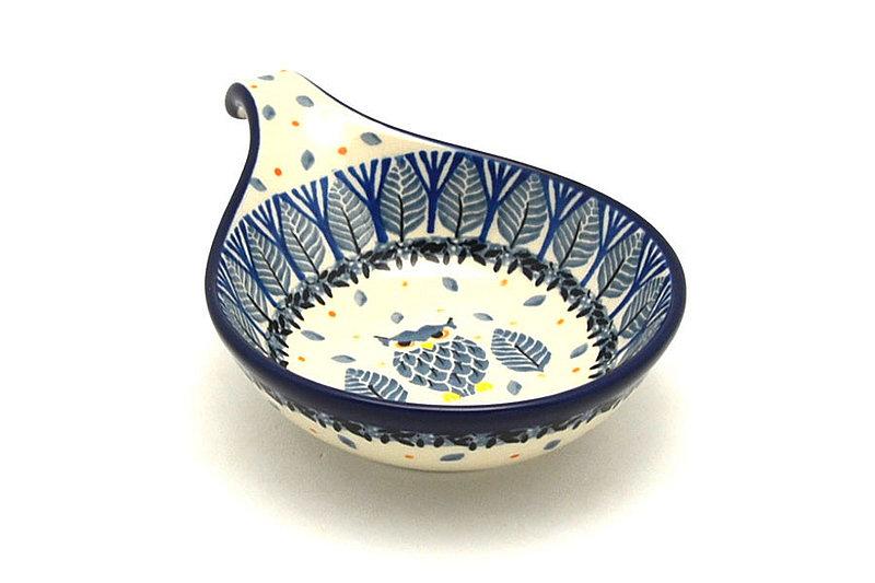 Ceramika Artystyczna Polish Pottery Spoon/Ladle Rest - Unikat Signature - U4873 174-U4873 (Ceramika Artystyczna)