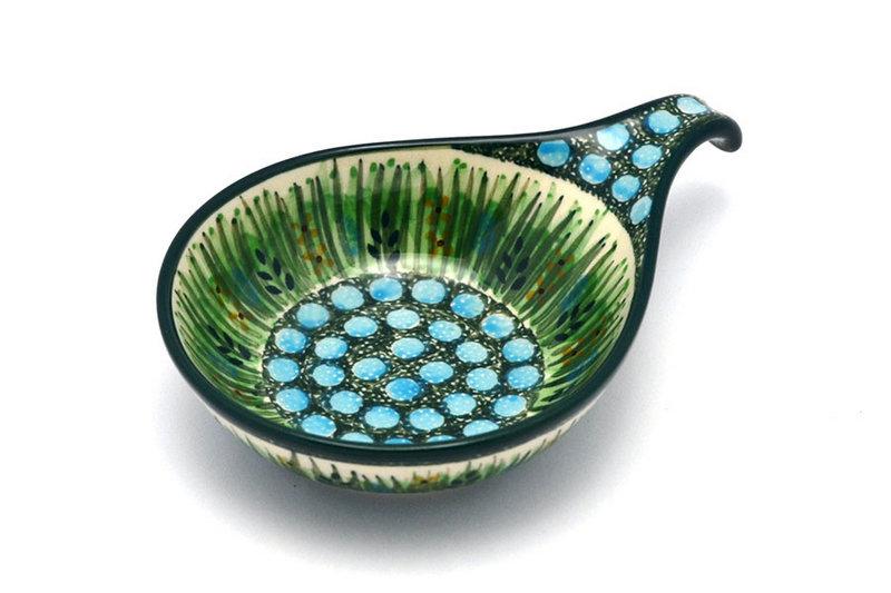 Ceramika Artystyczna Polish Pottery Spoon/Ladle Rest - Unikat Signature - U803 174-U0803 (Ceramika Artystyczna)