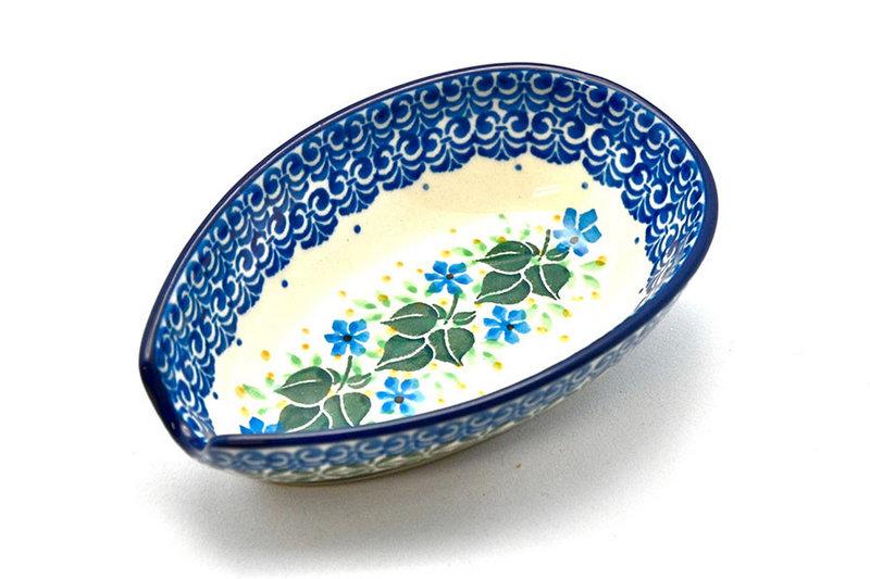 Ceramika Artystyczna Polish Pottery Spoon Rest - Ivy Trail 381-1898a (Ceramika Artystyczna)