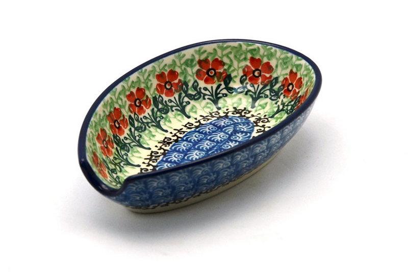 Ceramika Artystyczna Polish Pottery Spoon Rest - Maraschino 381-1916a (Ceramika Artystyczna)