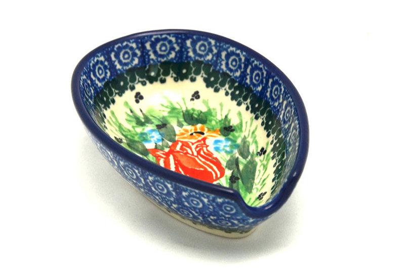 Ceramika Artystyczna Polish Pottery Spoon Rest - Unikat Signature - U3516 381-U3516 (Ceramika Artystyczna)