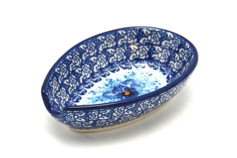 Ceramika Artystyczna Polish Pottery Spoon Rest - Unikat Signature - U3639 381-U3639 (Ceramika Artystyczna)