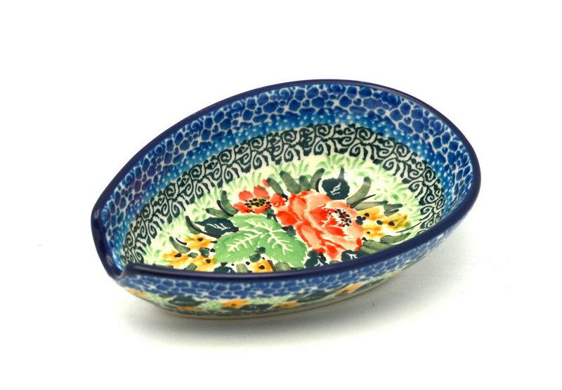 Ceramika Artystyczna Polish Pottery Spoon Rest - Unikat Signature - U4400 381-U4400 (Ceramika Artystyczna)