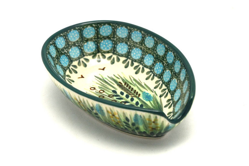 Ceramika Artystyczna Polish Pottery Spoon Rest - Unikat Signature - U803 381-U0803 (Ceramika Artystyczna)