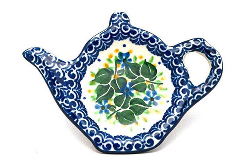 Ceramika Artystyczna Polish Pottery Tea Bag Holder - Ivy Trail 766-1898a (Ceramika Artystyczna)