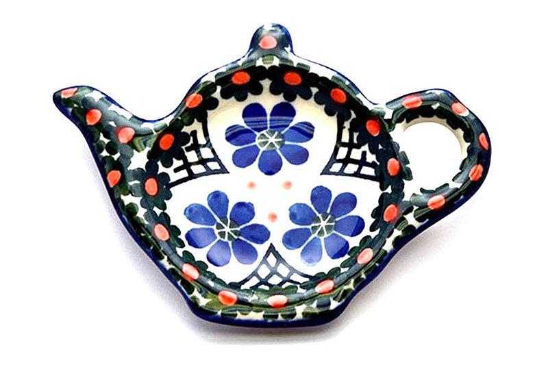 Ceramika Artystyczna Polish Pottery Tea Bag Holder - Primrose 766-854a (Ceramika Artystyczna)
