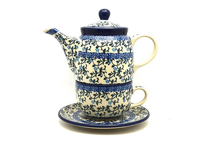 Ceramika Artystyczna Polish Pottery Tea Time for One - Terrace Vines 423-1822a (Ceramika Artystyczna)