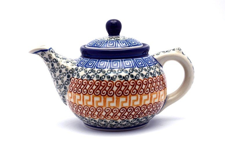 Ceramika Artystyczna Polish Pottery Teapot - 14 oz. - Autumn 120-050a (Ceramika Artystyczna)