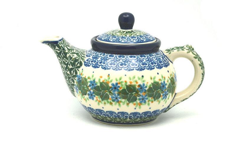 Ceramika Artystyczna Polish Pottery Teapot - 14 oz. - Ivy Trail 120-1898a (Ceramika Artystyczna)