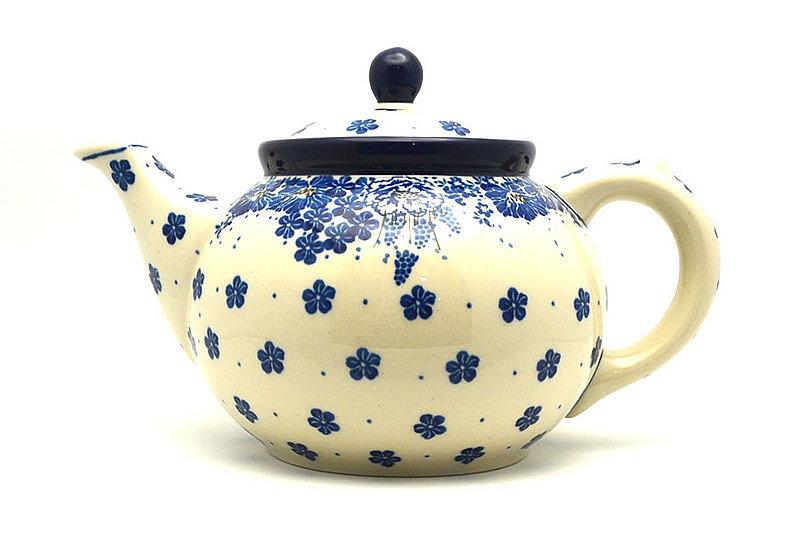 Ceramika Artystyczna Polish Pottery Teapot - 1 1/4 qt. - Blue Bayou 060-1975a (Ceramika Artystyczna)