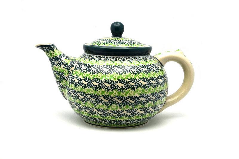 Ceramika Artystyczna Polish Pottery Teapot - 1 1/4 qt. - Irish Meadow 060-1888q (Ceramika Artystyczna)