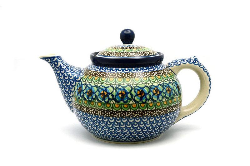 Ceramika Artystyczna Polish Pottery Teapot - 1 1/4 qt. - Unikat Signature U151 060-U0151 (Ceramika Artystyczna)