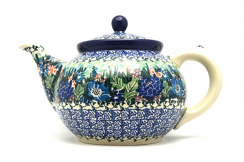 Ceramika Artystyczna Polish Pottery Teapot - 1 1/4 qt. - Unikat Signature U4572 060-U4572 (Ceramika Artystyczna)