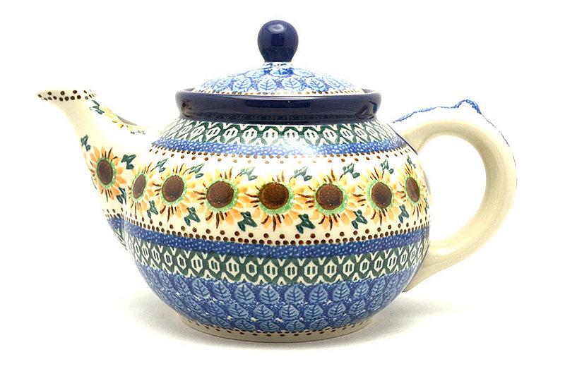 Ceramika Artystyczna Polish Pottery Teapot - 1 1/4 qt. - Unikat Signature U4860 060-U4860 (Ceramika Artystyczna)
