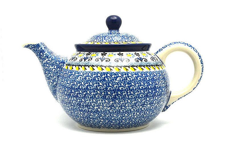 Ceramika Artystyczna Polish Pottery Teapot - 3/4 qt. - Daisy Maize 264-2178a (Ceramika Artystyczna)