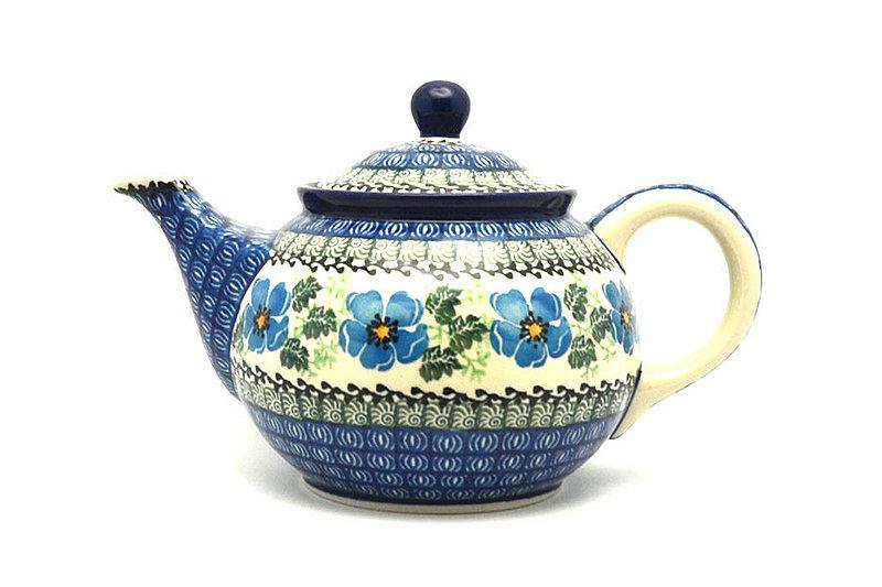 Ceramika Artystyczna Polish Pottery Teapot - 3/4 qt. - Morning Glory 264-1915a (Ceramika Artystyczna)