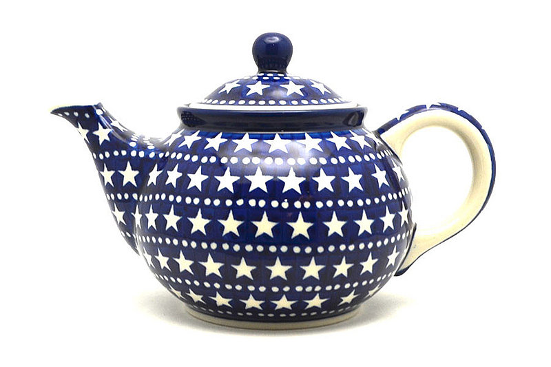Ceramika Artystyczna Polish Pottery Teapot - 3/4 qt. - Starlight 264-0119a (Ceramika Artystyczna)