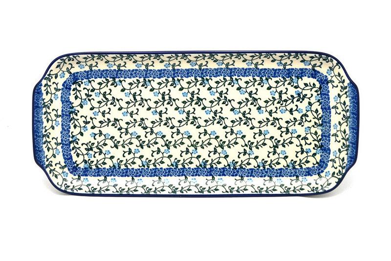"""Ceramika Artystyczna Polish Pottery Tray - Appetizer - 12"""" - Terrace Vines 410-1822a (Ceramika Artystyczna)"""