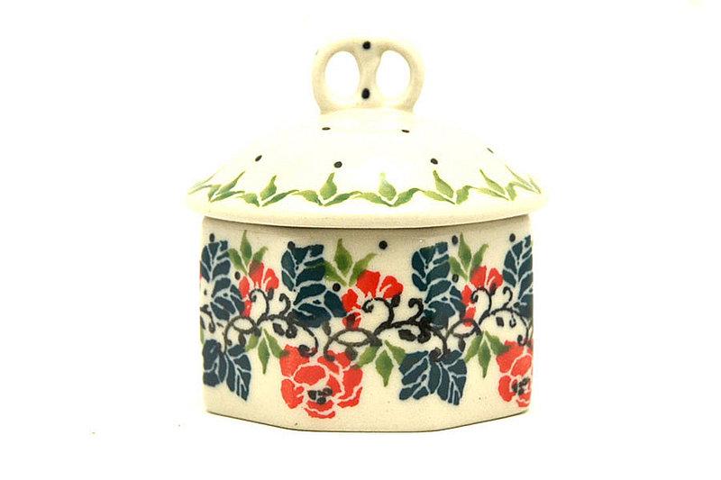 Ceramika Artystyczna Polish Pottery Trinket Box - Christmas Pageant 110-1970a (Ceramika Artystyczna)