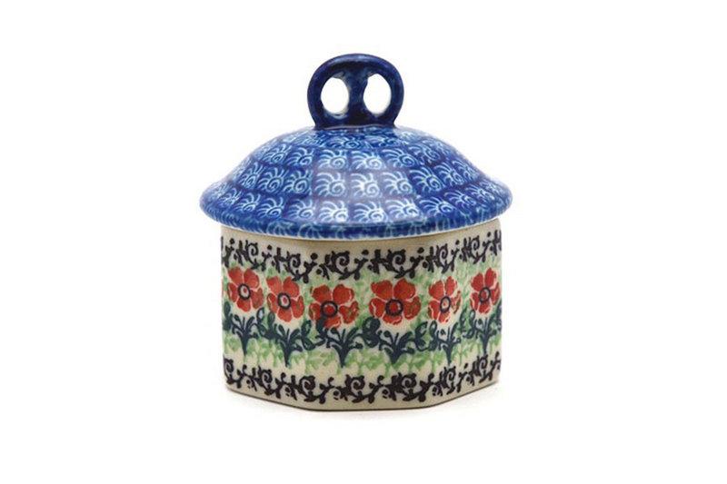Ceramika Artystyczna Polish Pottery Trinket Box - Maraschino 110-1916a (Ceramika Artystyczna)