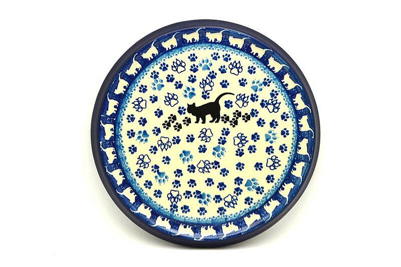 Ceramika Artystyczna Polish Pottery Trivet - Boo Boo Kitty 277-1771a (Ceramika Artystyczna)