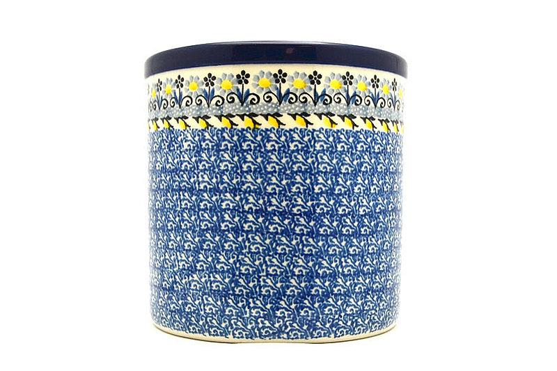 Ceramika Artystyczna Polish Pottery Utensil Holder - Daisy Maize 003-2178a (Ceramika Artystyczna)