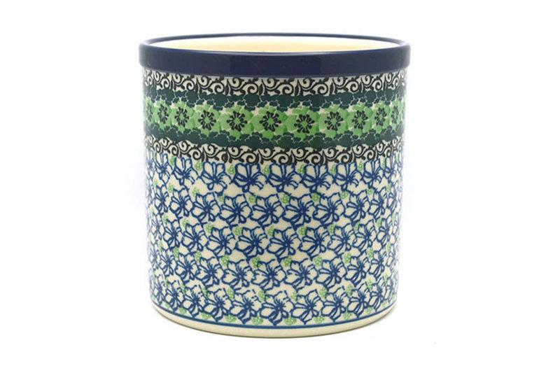 Ceramika Artystyczna Polish Pottery Utensil Holder - Kiwi 003-1479a (Ceramika Artystyczna)