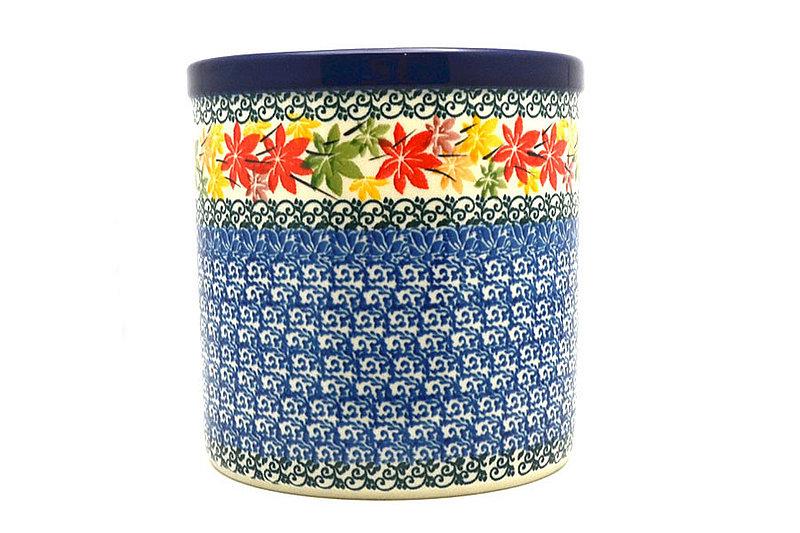 Ceramika Artystyczna Polish Pottery Utensil Holder - Maple Harvest 003-2533a (Ceramika Artystyczna)