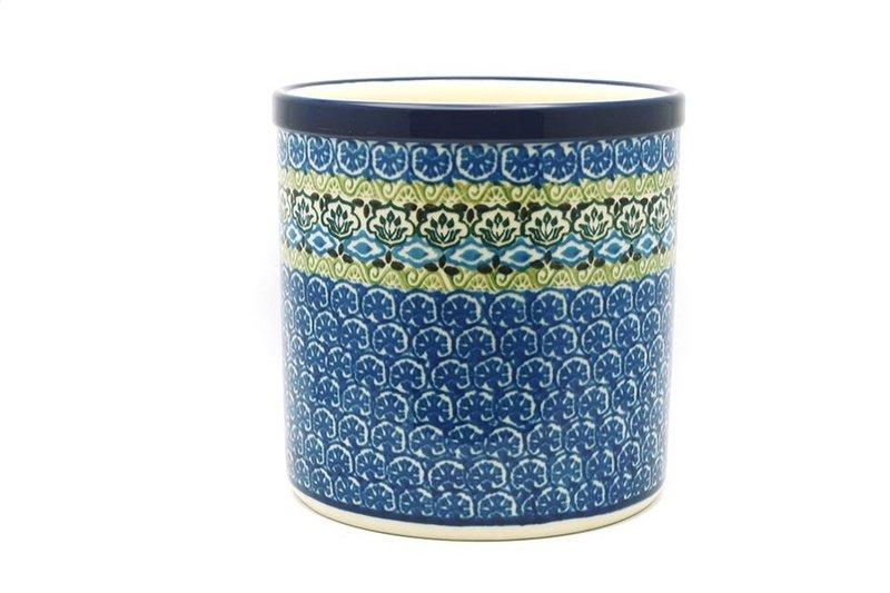 Ceramika Artystyczna Polish Pottery Utensil Holder - Tranquility 003-1858a (Ceramika Artystyczna)