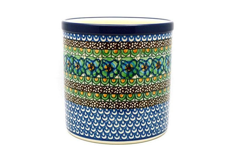 Ceramika Artystyczna Polish Pottery Utensil Holder - Unikat Signature U151 003-U0151 (Ceramika Artystyczna)