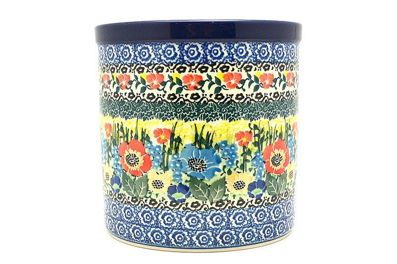 Ceramika Artystyczna Polish Pottery Utensil Holder - Unikat Signature U4578 003-U4578 (Ceramika Artystyczna)